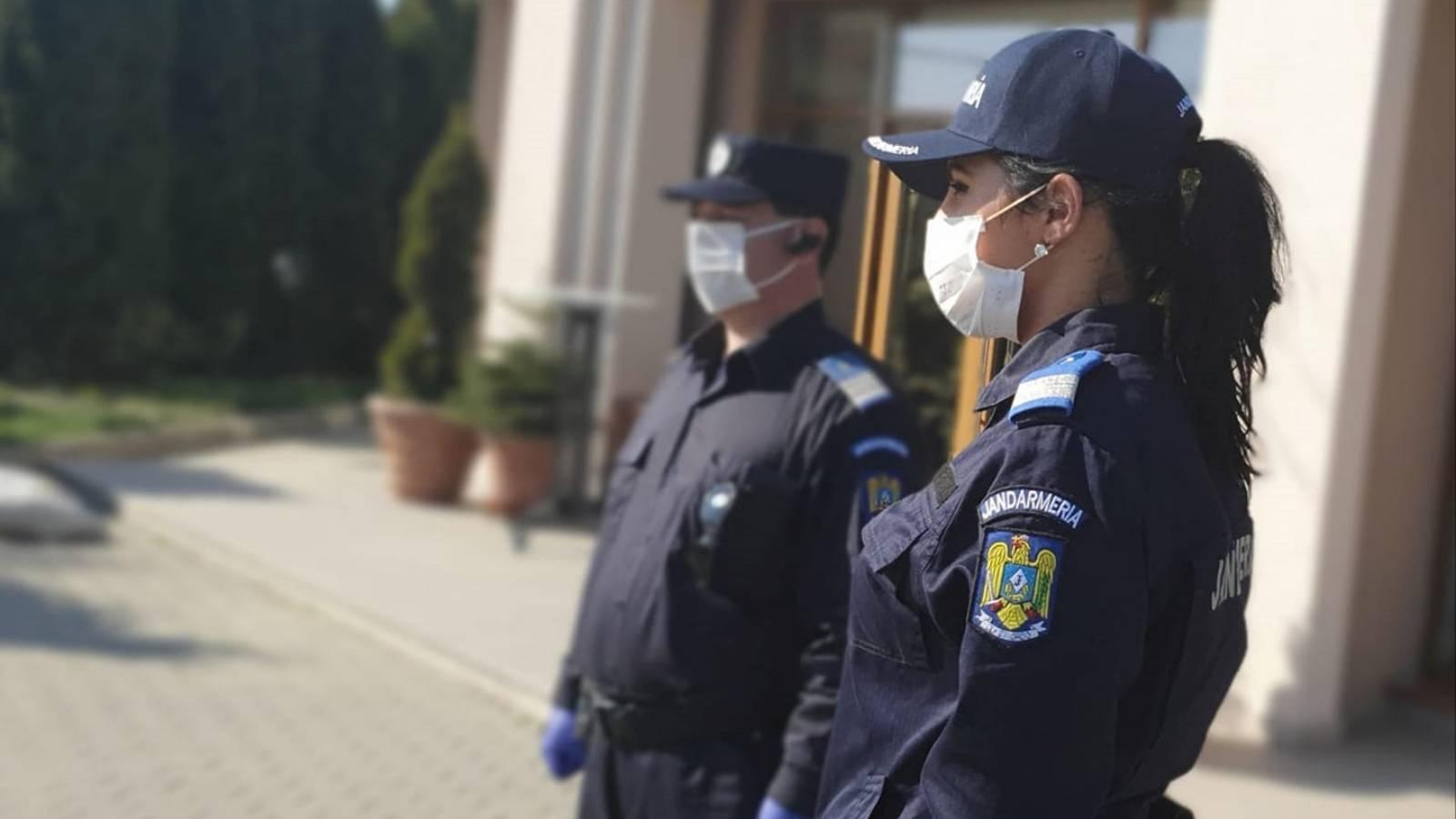 Anunt Jandarmeria Romana Proteste anti COVID-19