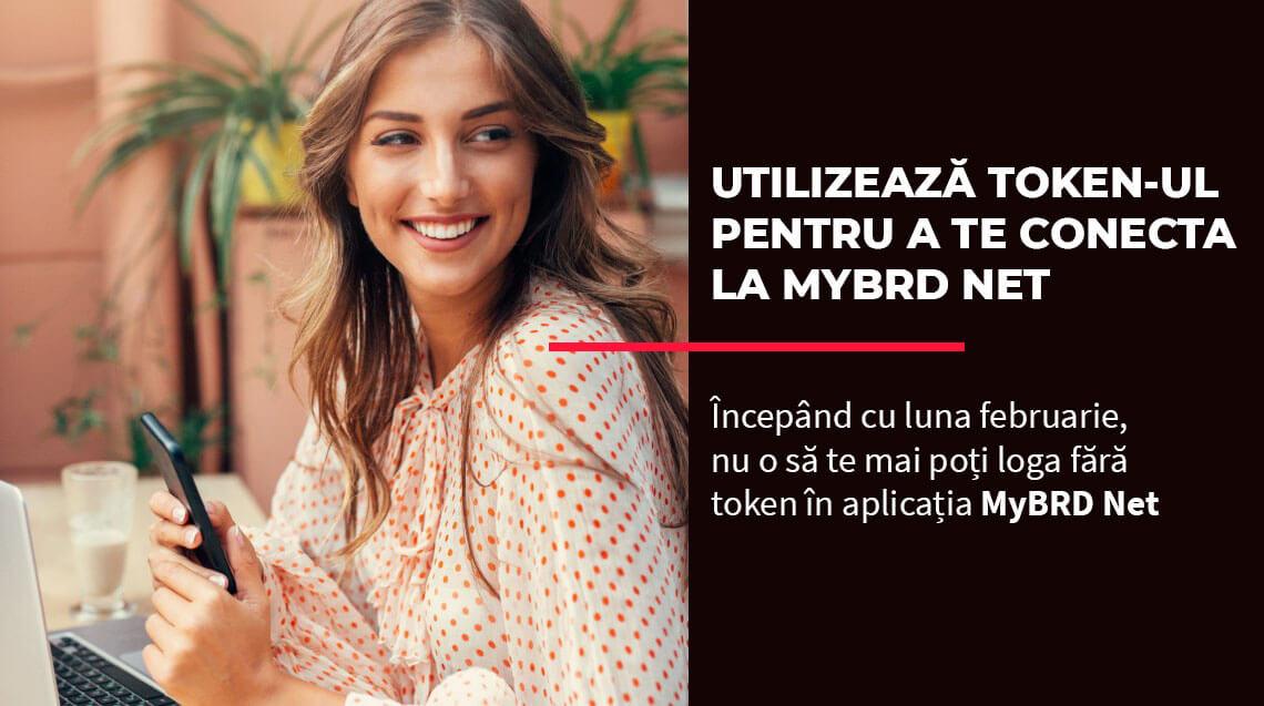 BRD Romania logare token