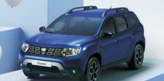DACIA Duster pozitionare