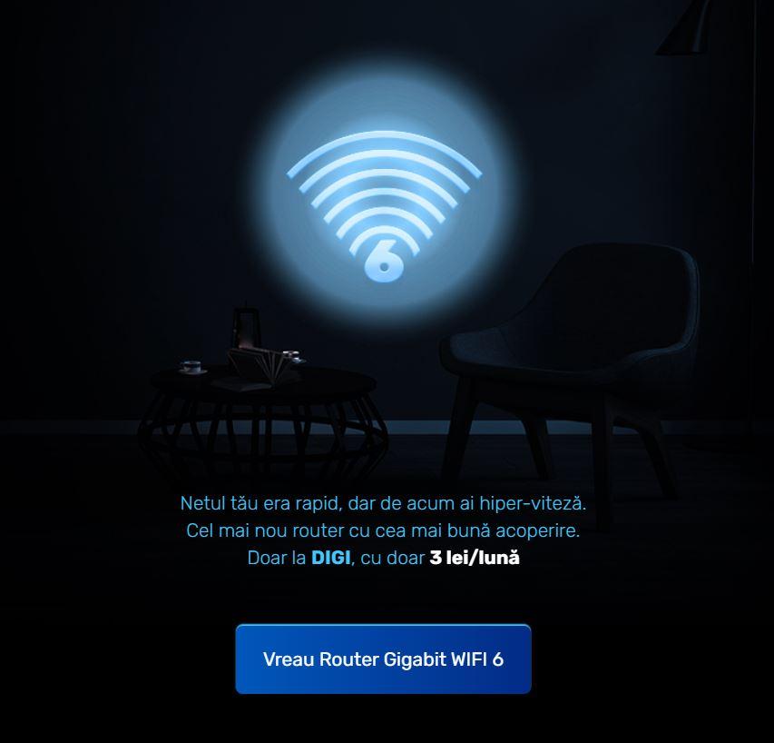 DIGI Romania wi-fi 6