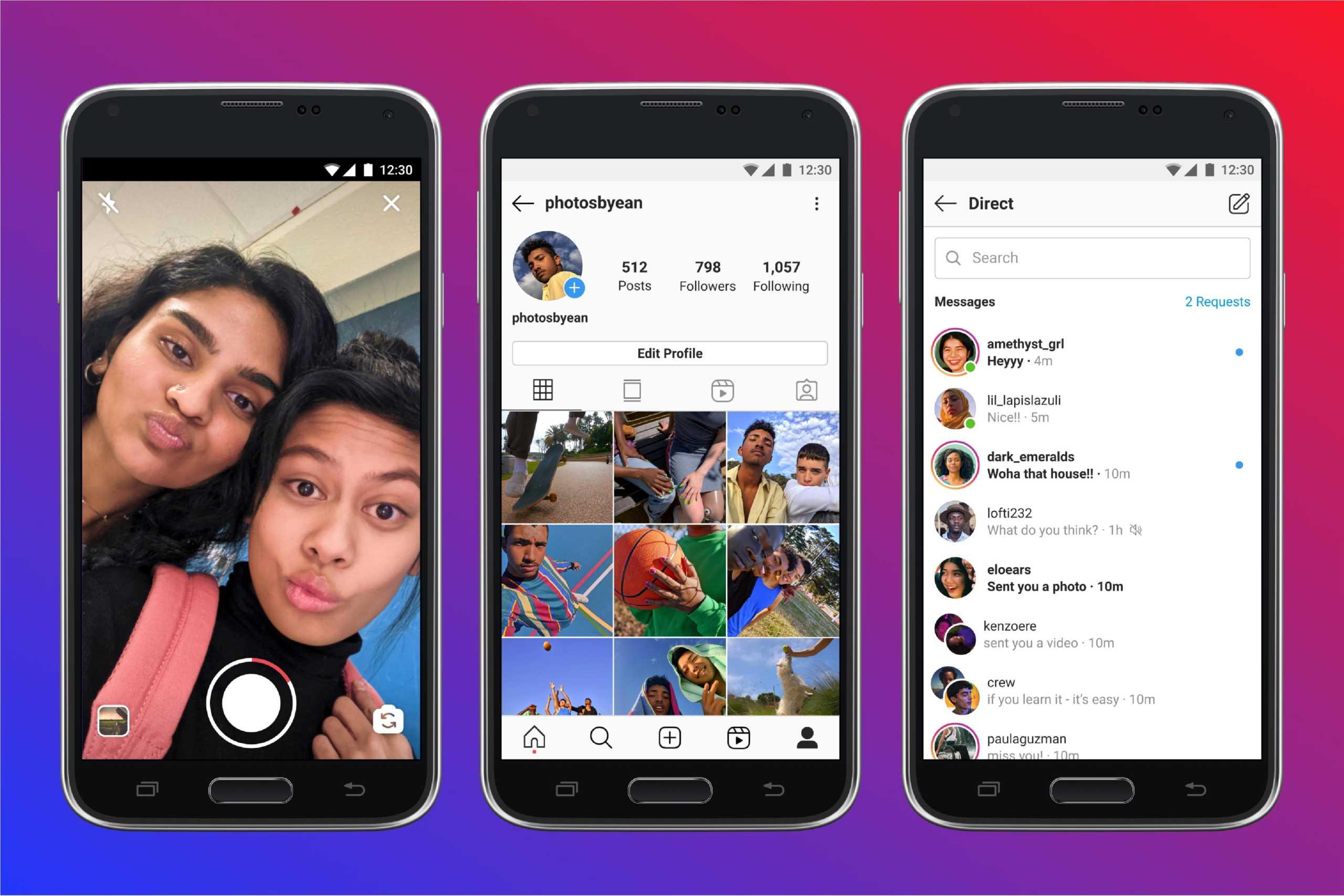Facebook Instagram Lite lansare