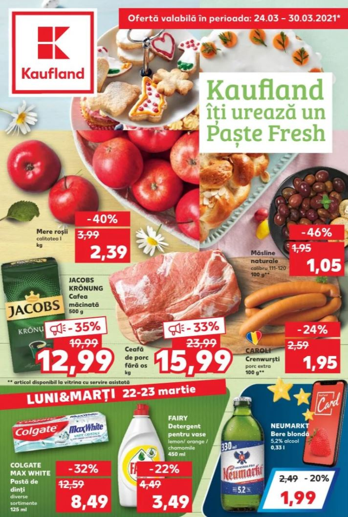 Kaufland paste catalog