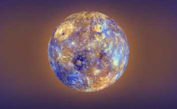 Planeta Mercur interpunere