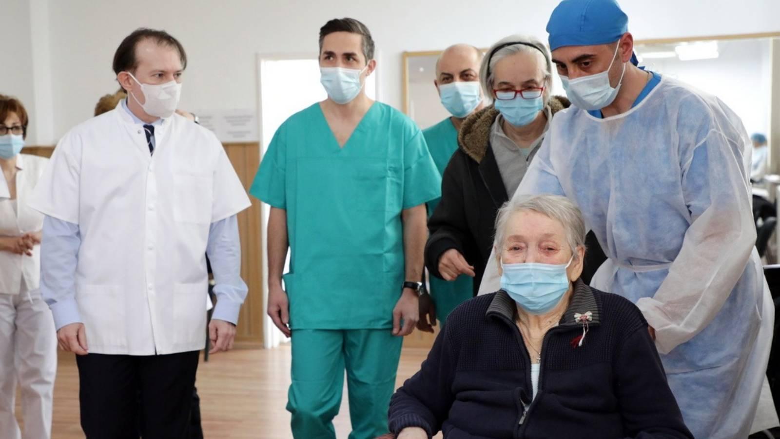 Romania a Vaccinat 1 Milion de Persoane Impotriva Coronavirus