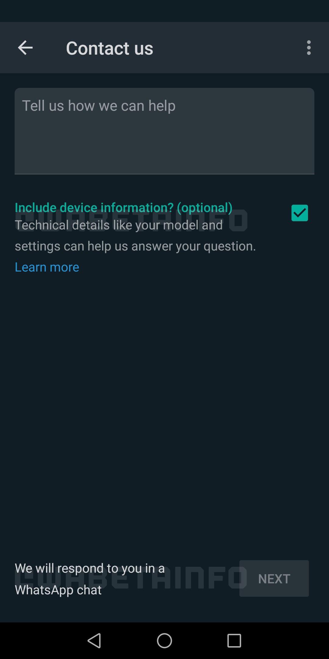 WhatsApp colaborare ajutor
