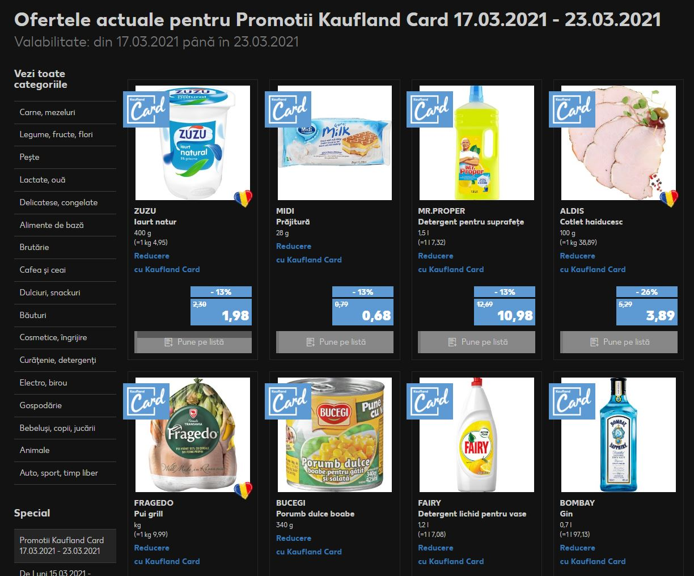 kaufland diversificare produse