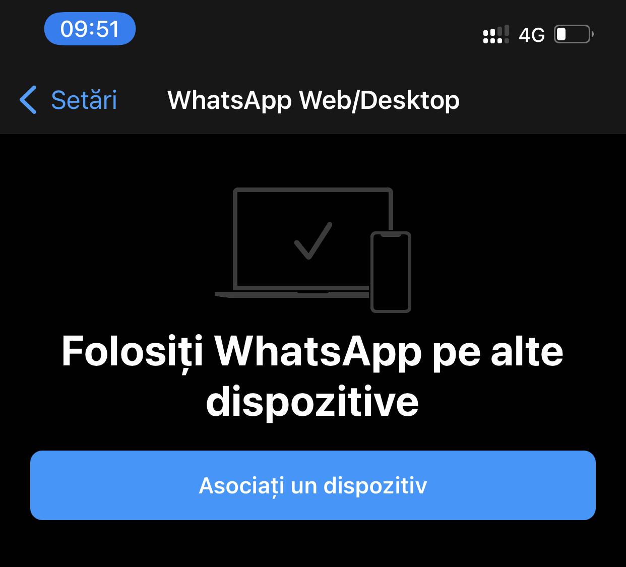 whatsapp website logare