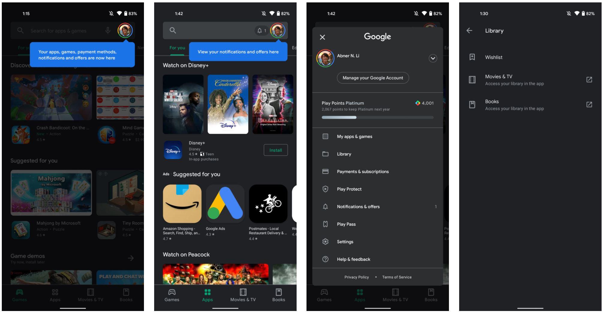Android magazin design