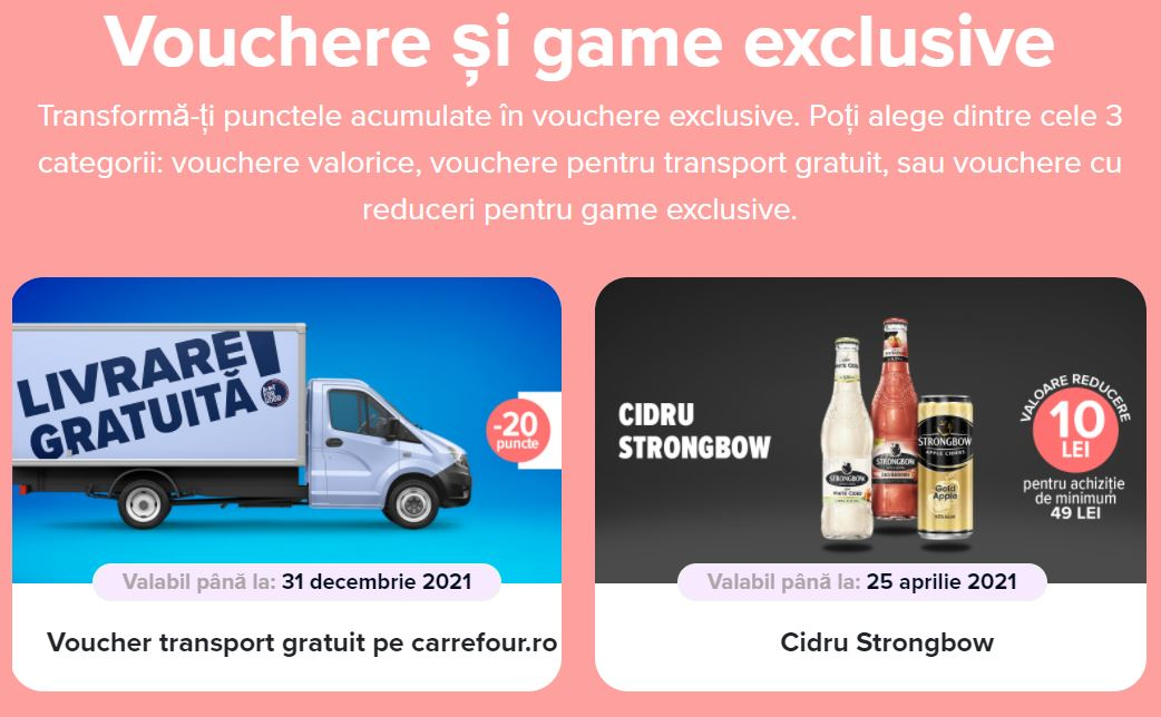 Carrefour exclusivitate voucher