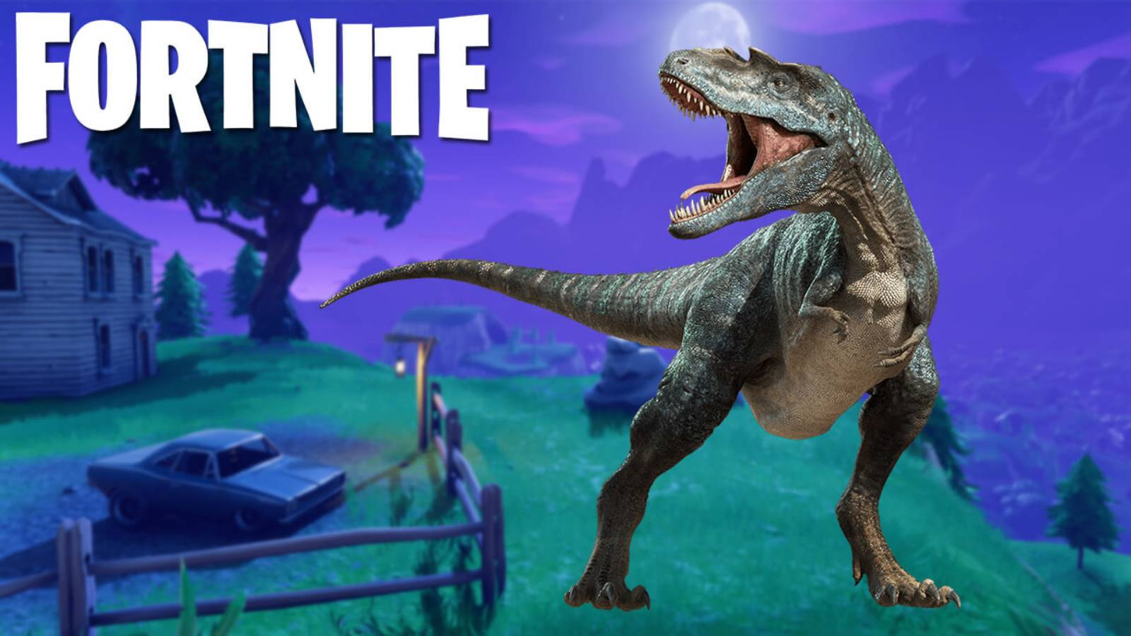 Fortnite Dinozauri