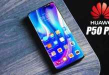 Huawei P50 Pro senzori