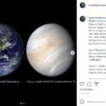 Planeta Venus comparatie pamant