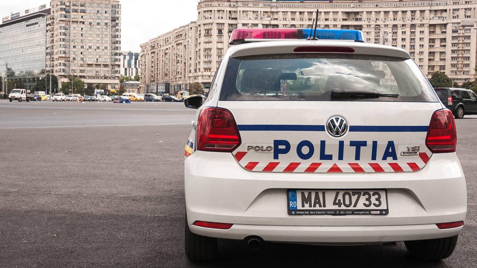 Politia Romana atentionare florii