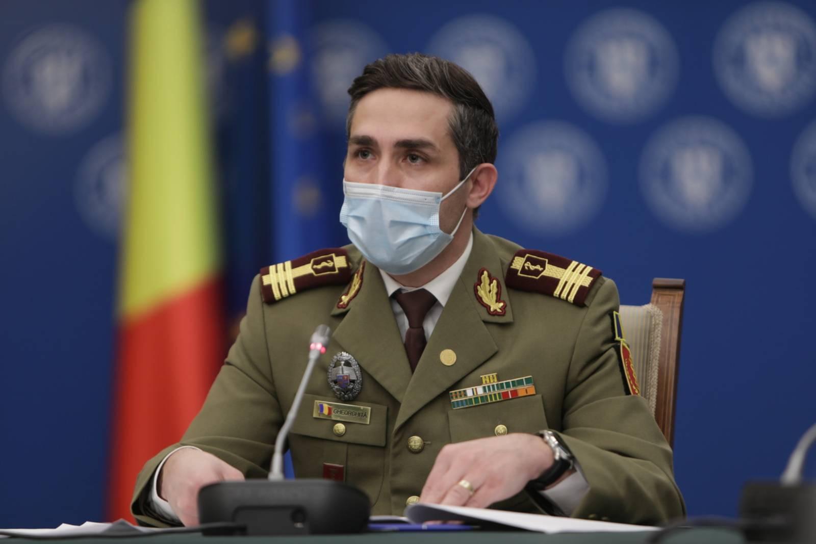 Valeriu Gheorghita Vaccinare drive through Pfizer