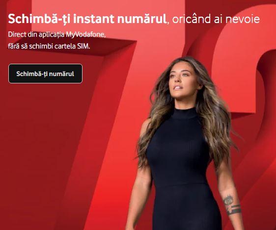 Vodafone Romania realegere numar