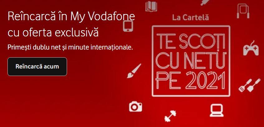 Vodafone multiplicare net minute
