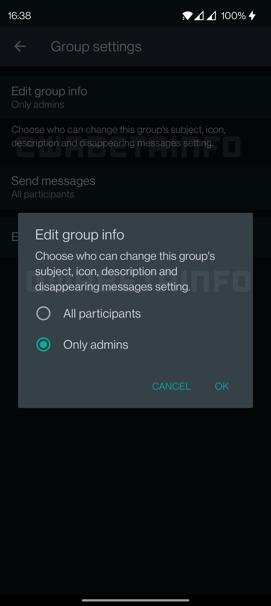 WhatsApp risipire mesaje