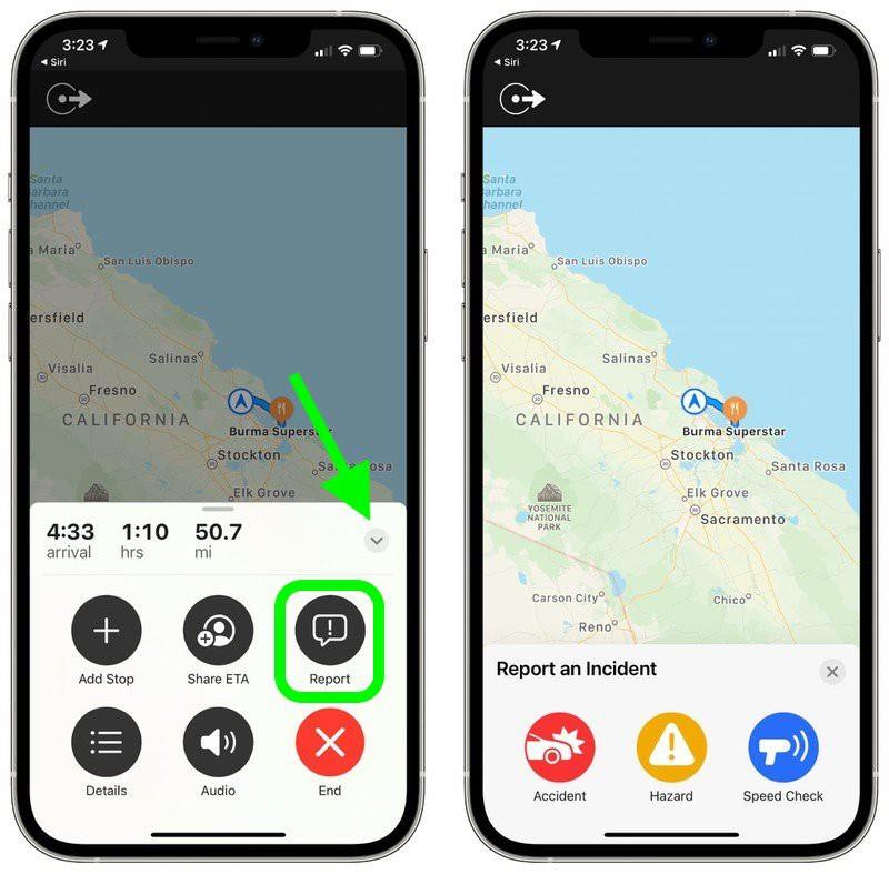 iOS 14.5 Apple Maps Waze raportari