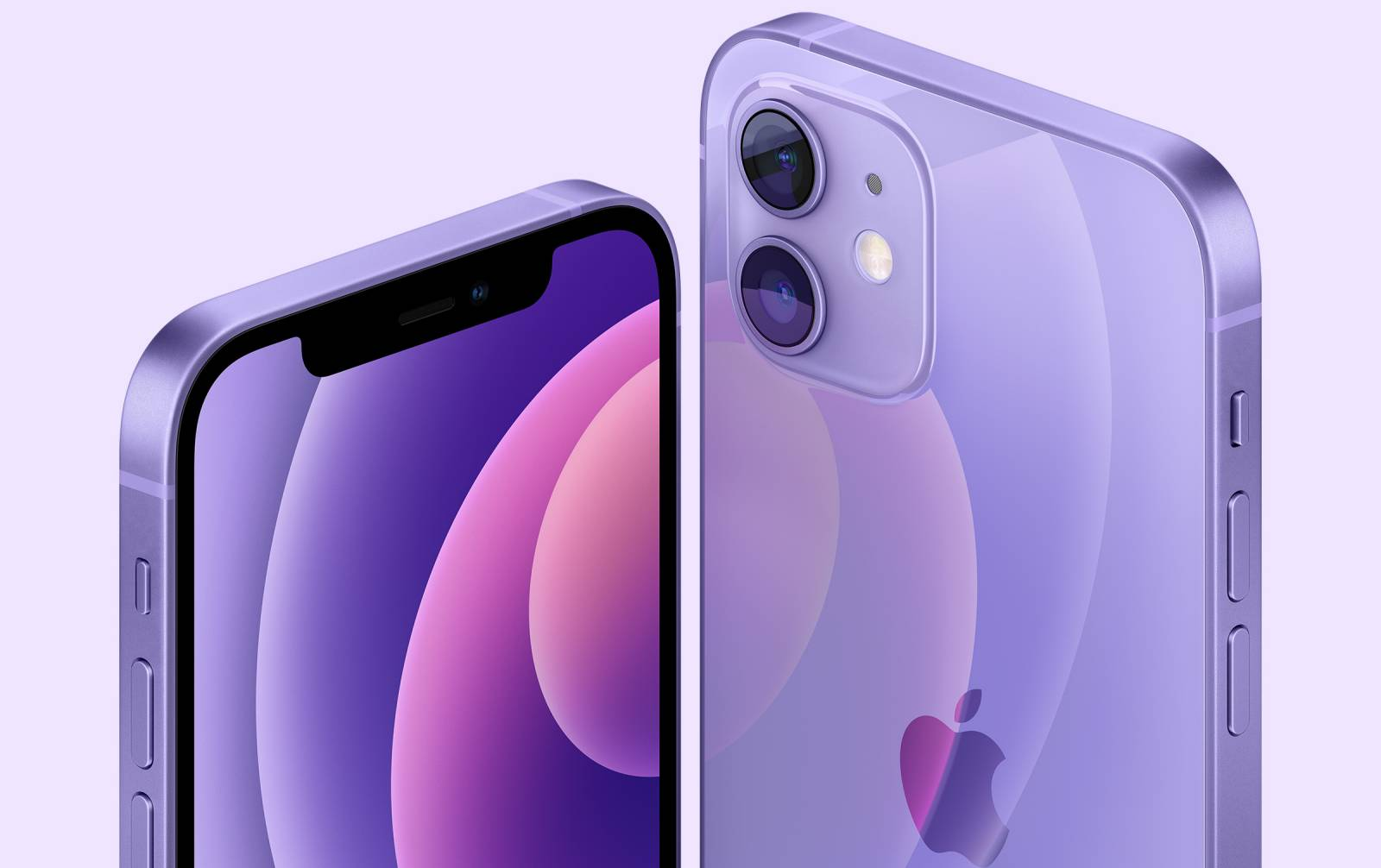 iPhone 12 violet