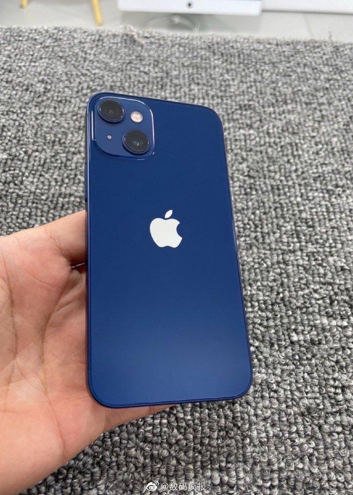 iPhone 13 Mini foto prototip telefon