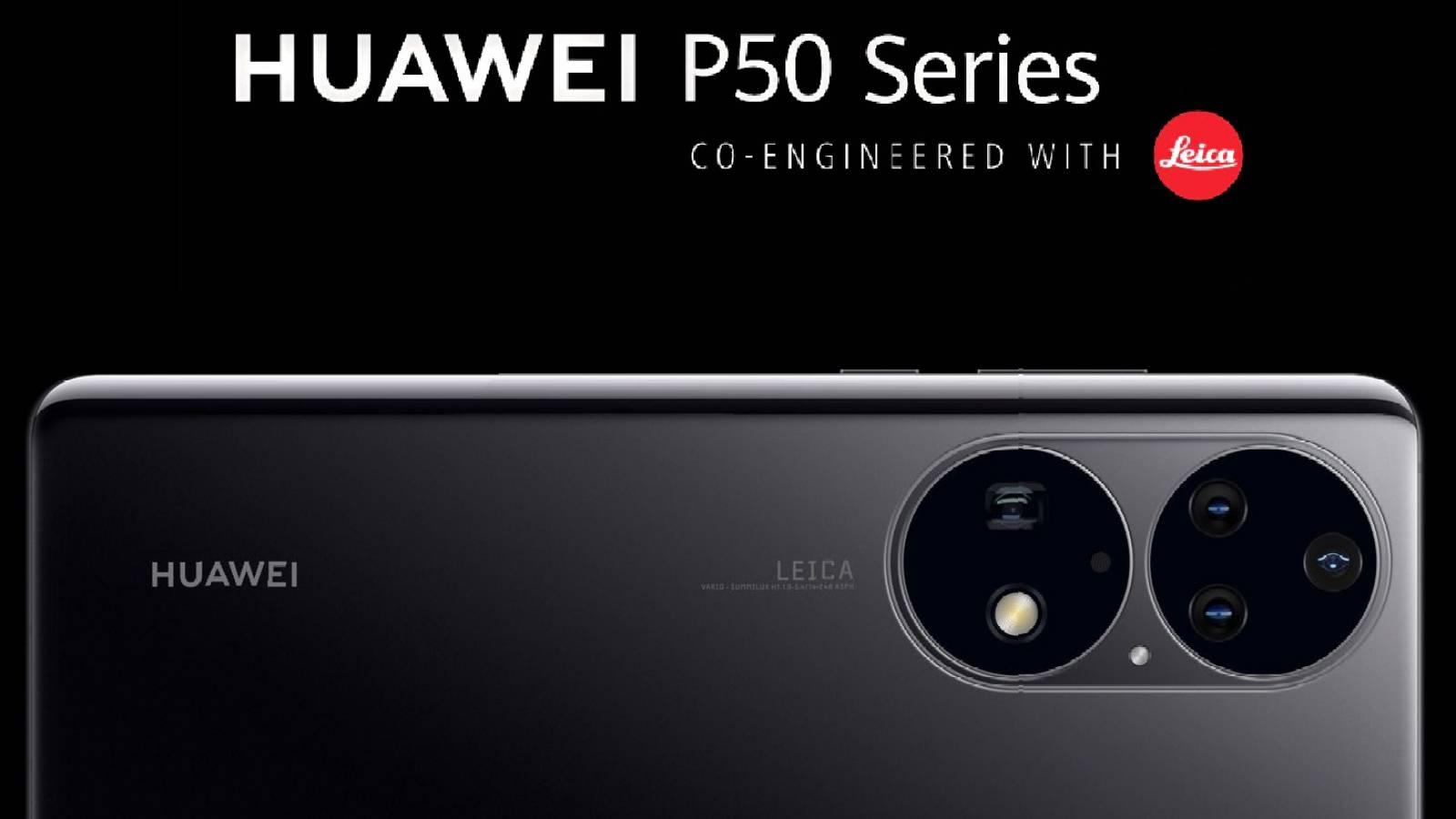 Huawei P50 Pro dezvaluit