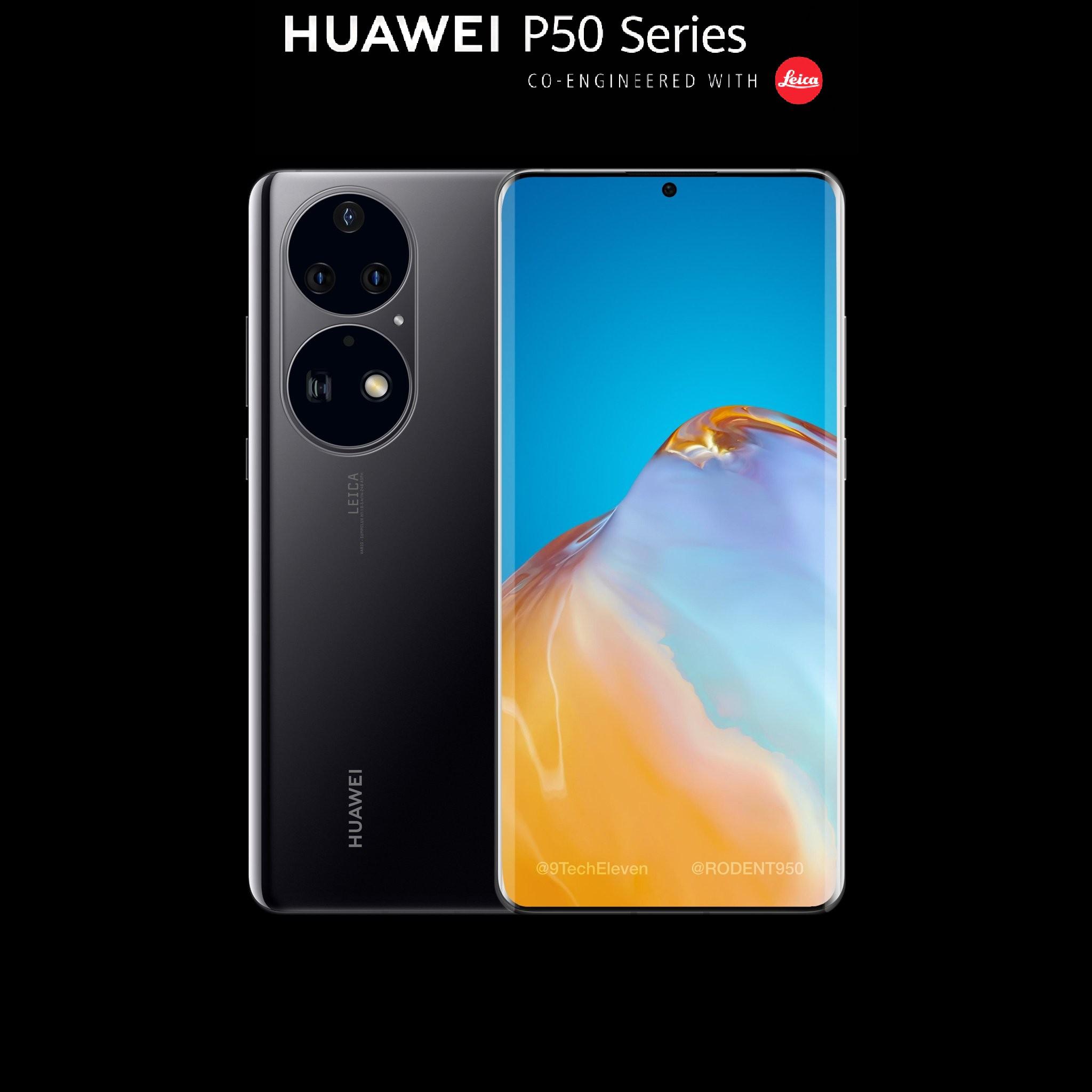 Huawei P50 Pro finalizat design