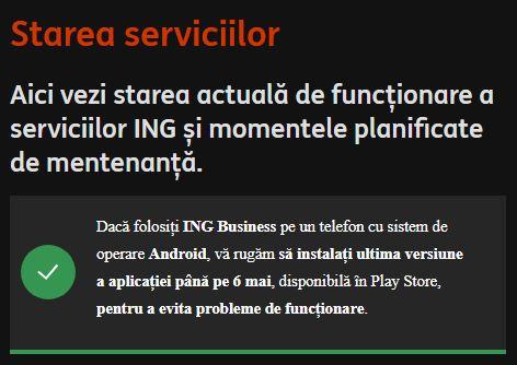 ING Bank evitare afaceri blocare