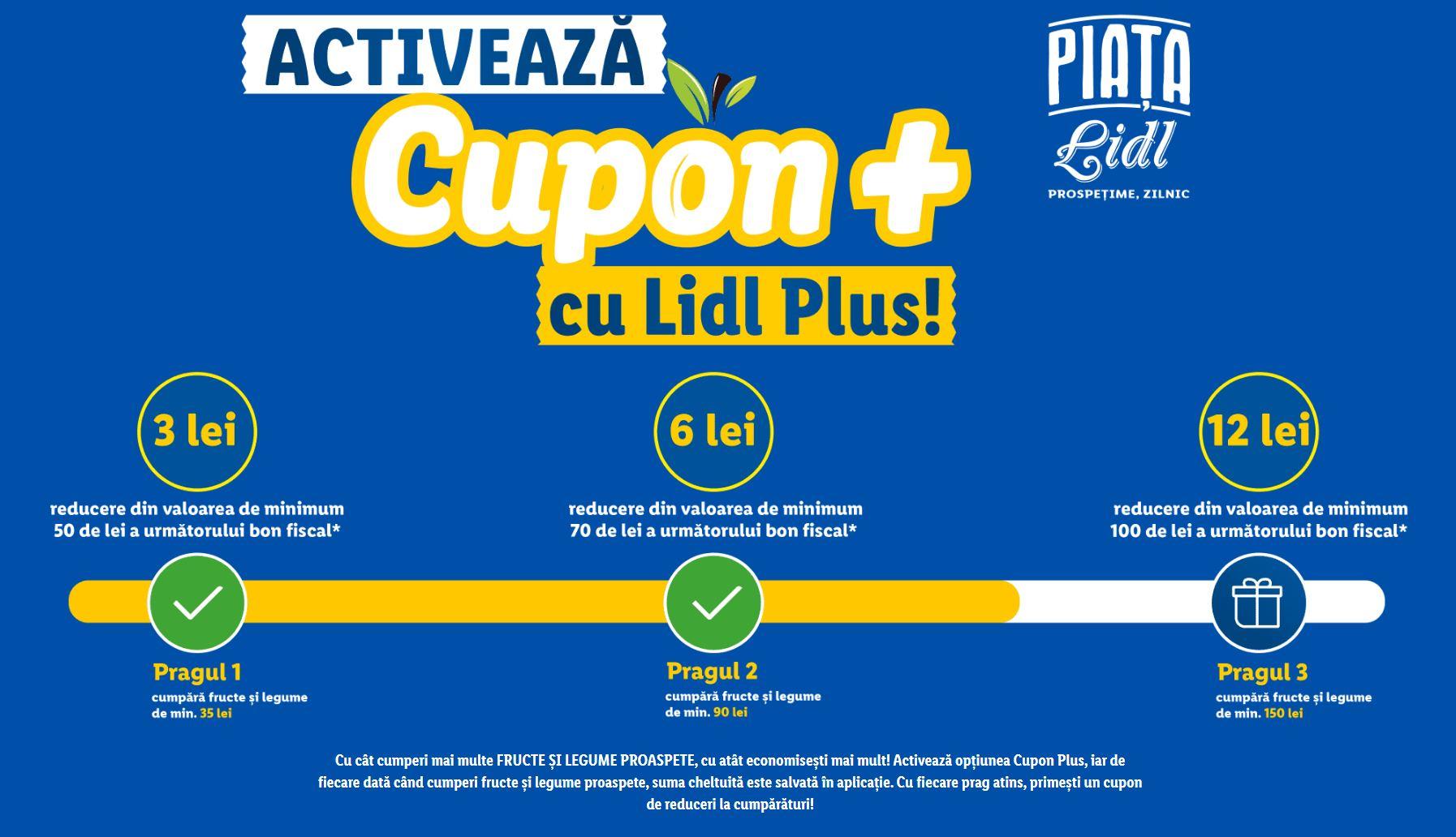 LIDL Romania proaspat cupoane fructe