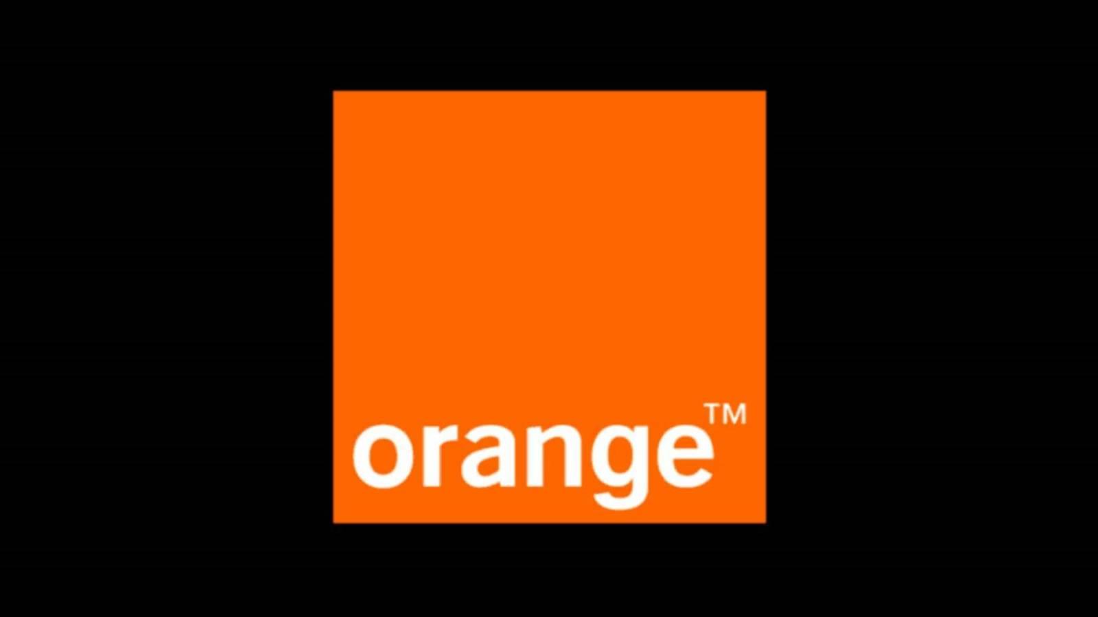 Orange pelicule