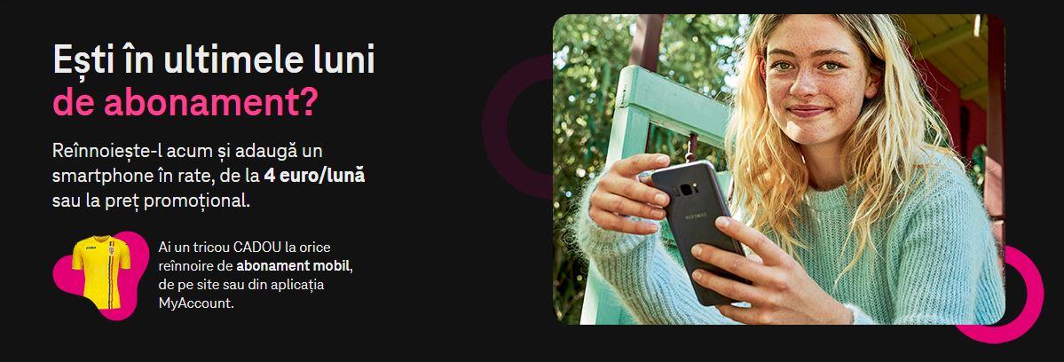 Telekom tricou prelungire