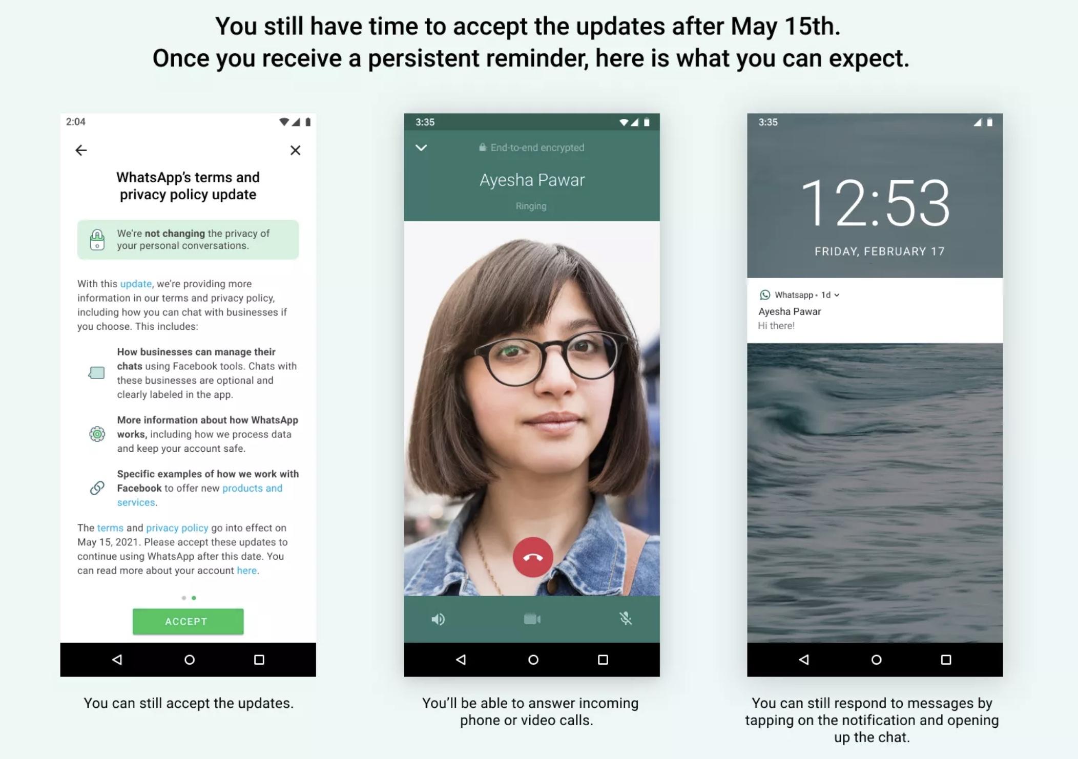 WhatsApp restrictii aplicatie