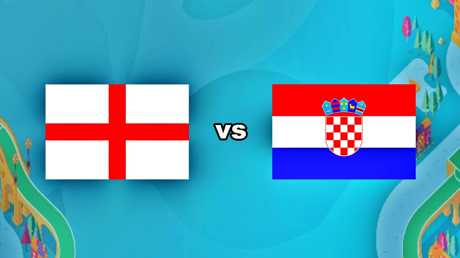 Anglia - Croatia LIVE EURO 2020