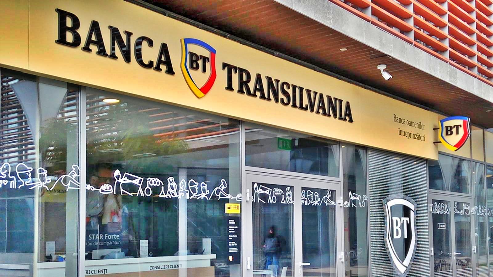 BANCA Transilvania calatorie