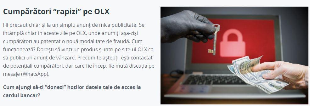 BCR Romania cumparatori olx