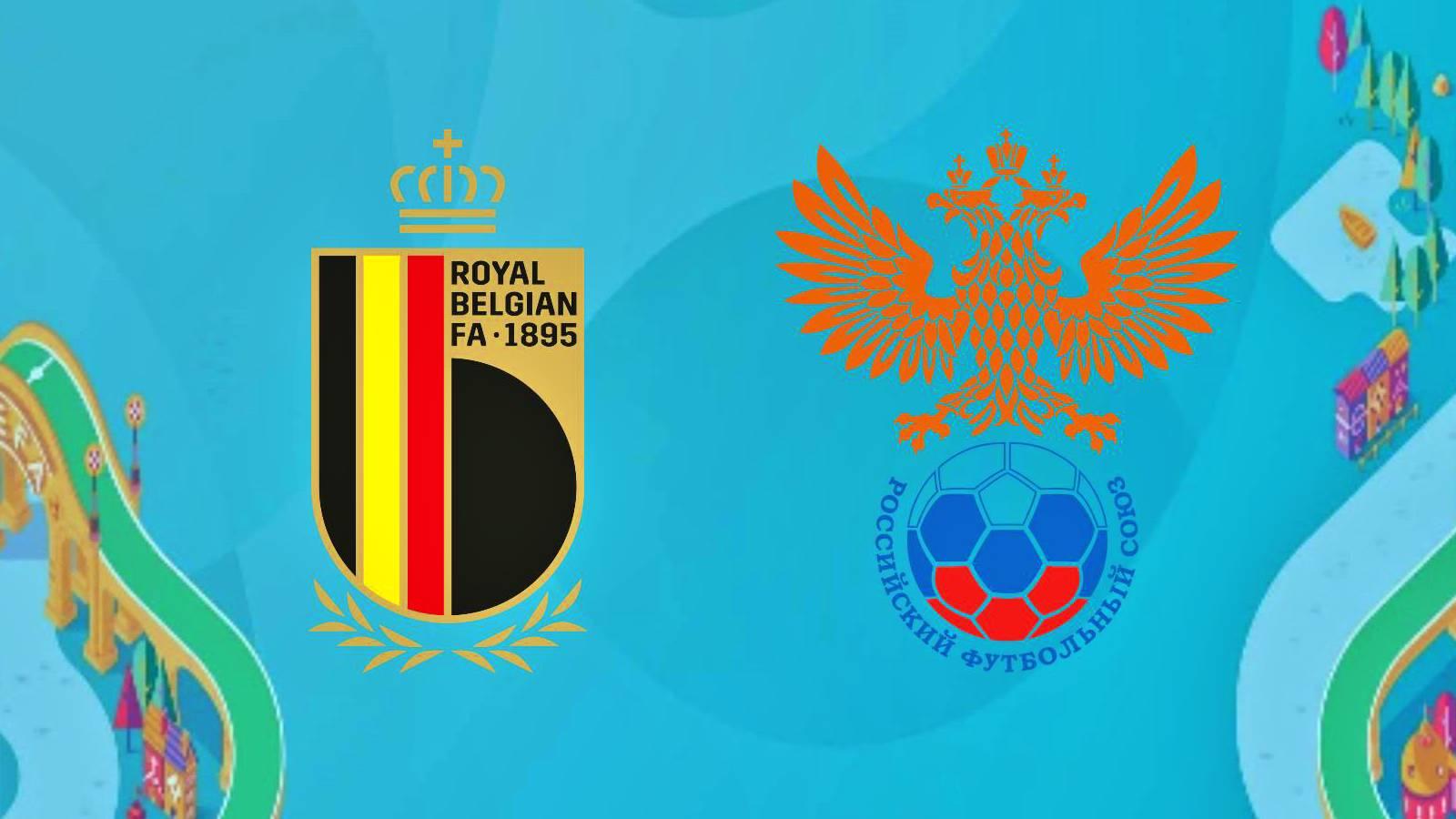 Belgia - Rusia LIVE EURO 2020