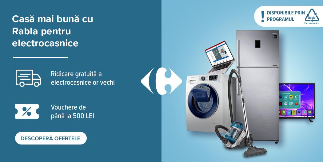 Carrefour Electrocasnicele reduceri runda 2 rabla