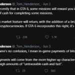 GTA 6 Bitcoin criptomonede