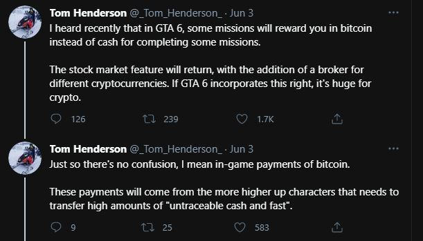 GTA 6 Bitcoin