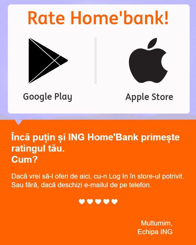 ING Bank recenzie aplicatii