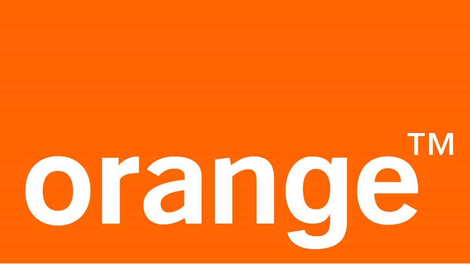 Orange bicicleta
