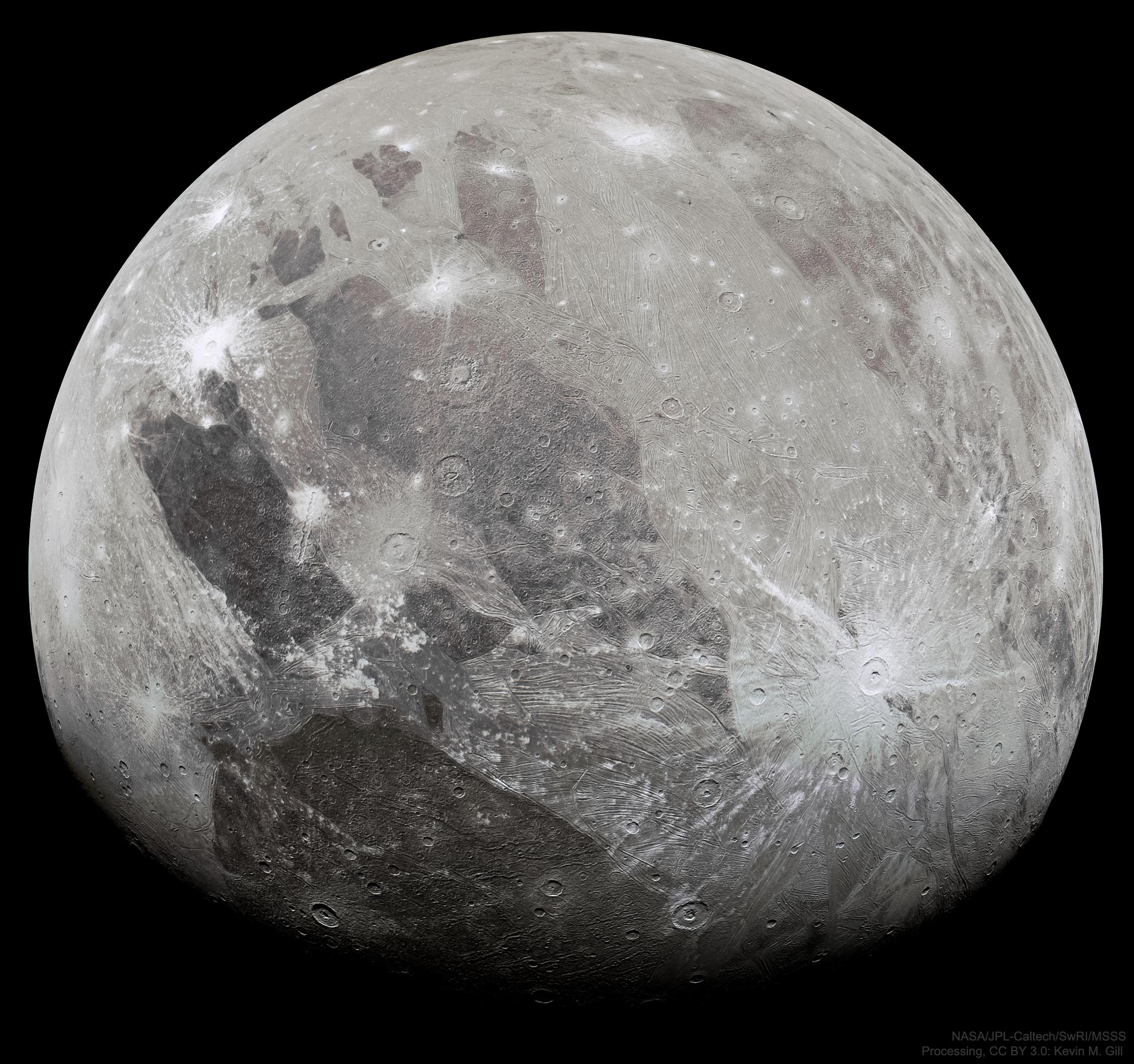 Planeta Jupiter explorare ganymede