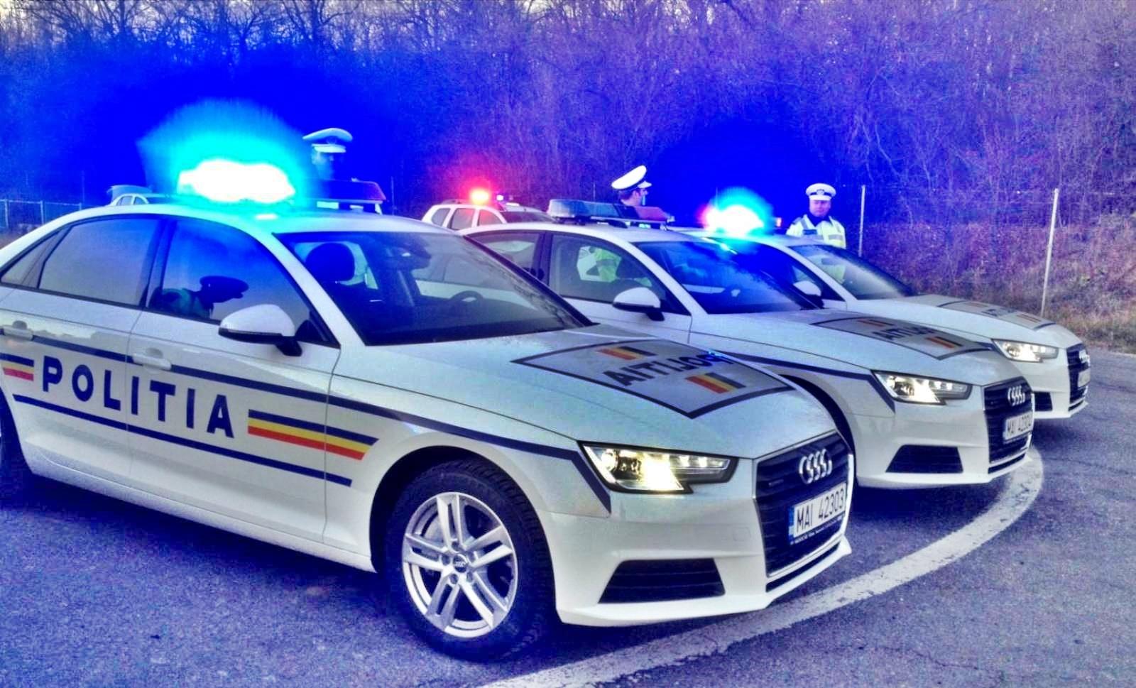 Politia Romana filtru autostrada