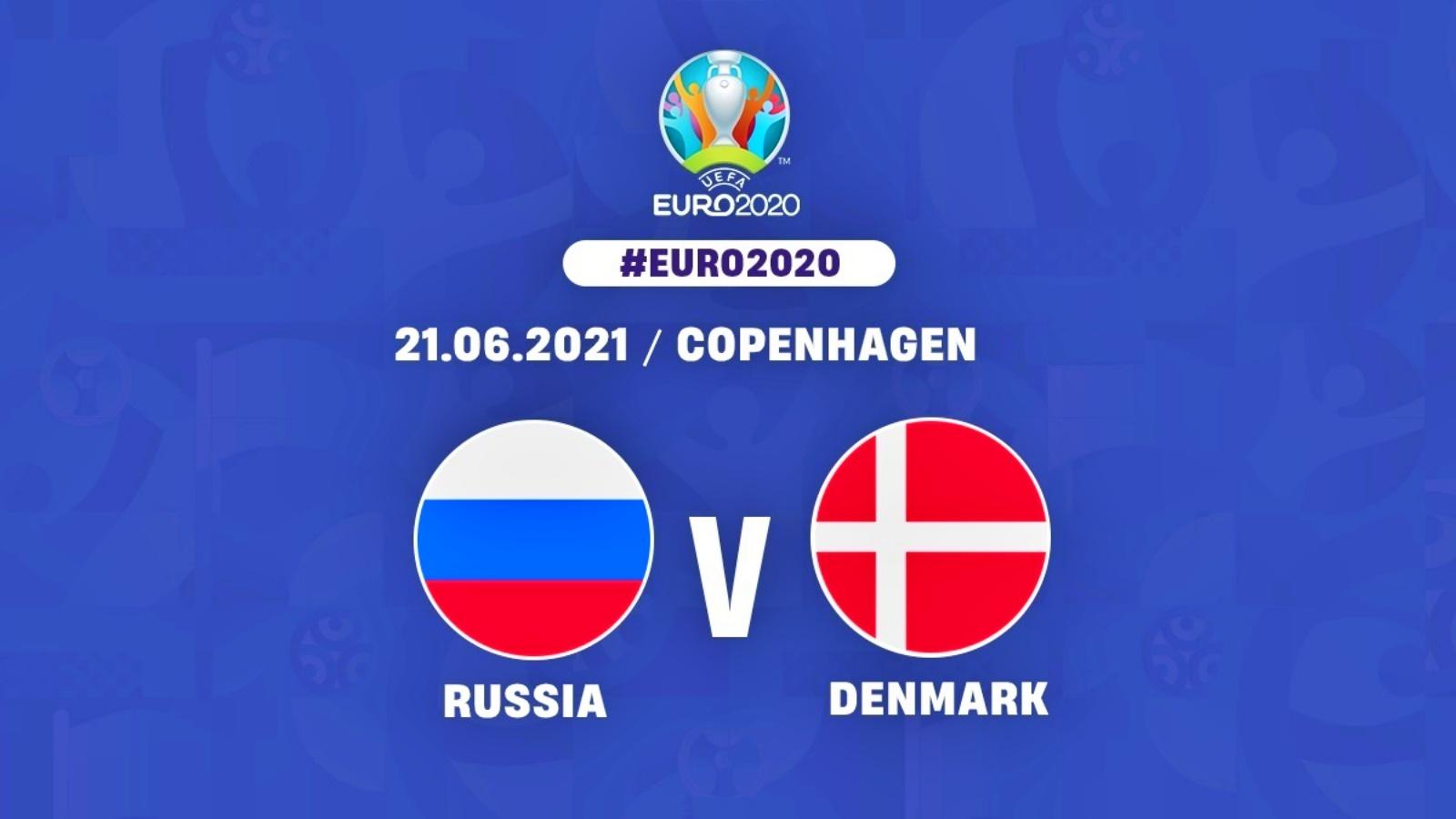 RUSIA - DANEMARCA LIVE PRO TV EURO 2020