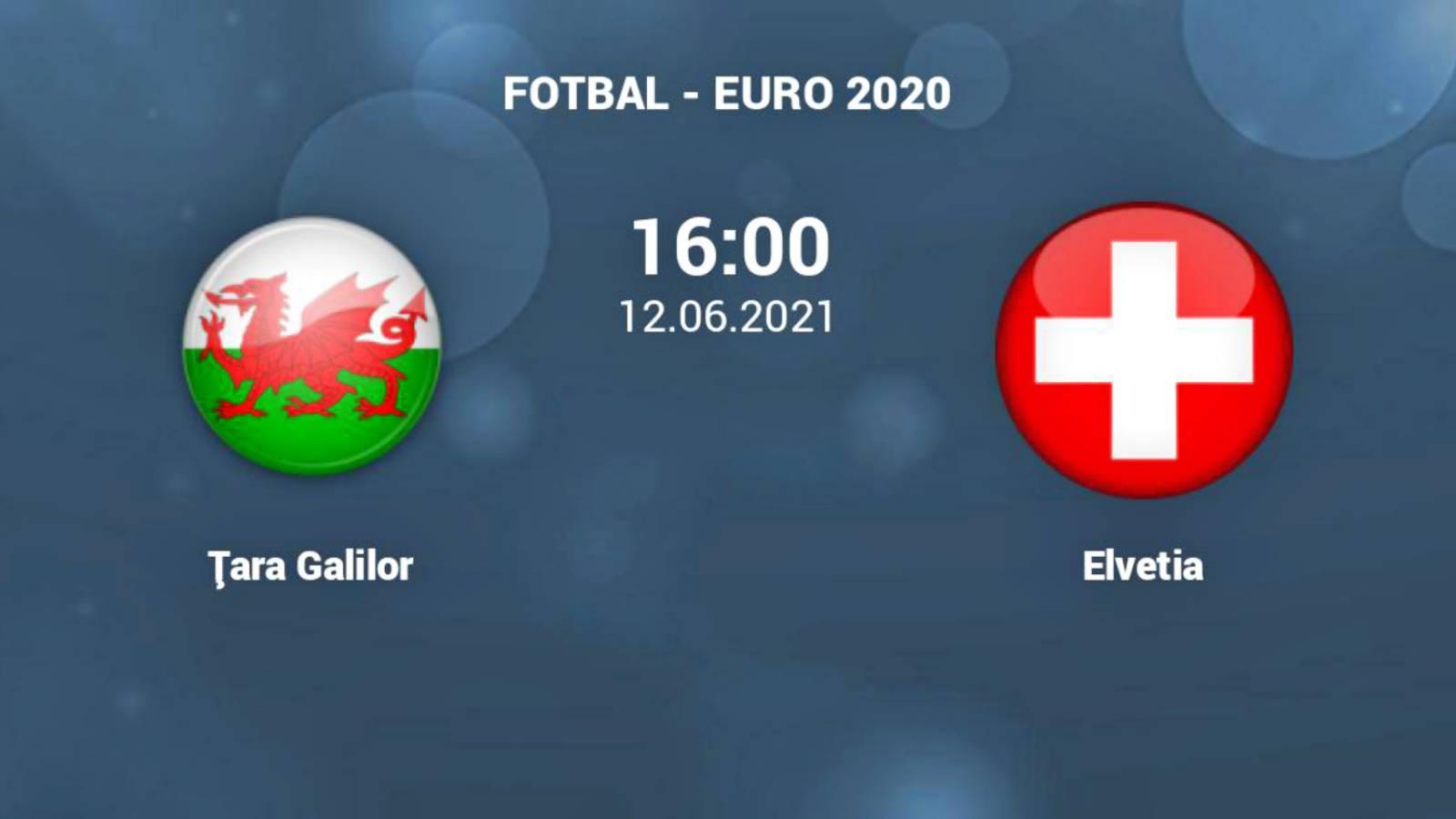 Tara Galilor - Elvetia LIVE EURO 2020