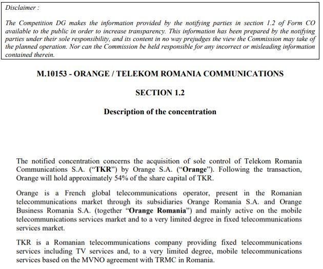 Telekom permisiune comisia europeana