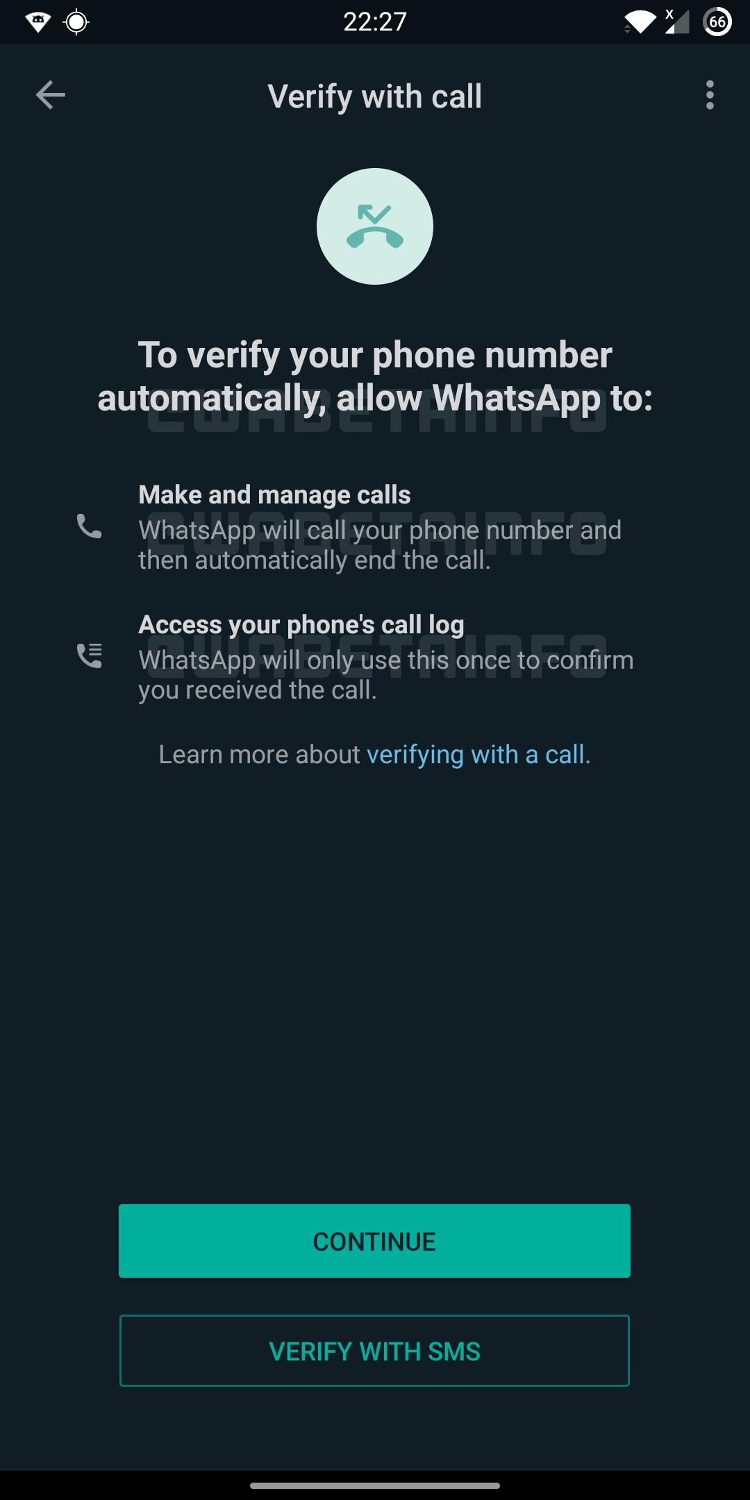 WhatsApp automatizare verificare