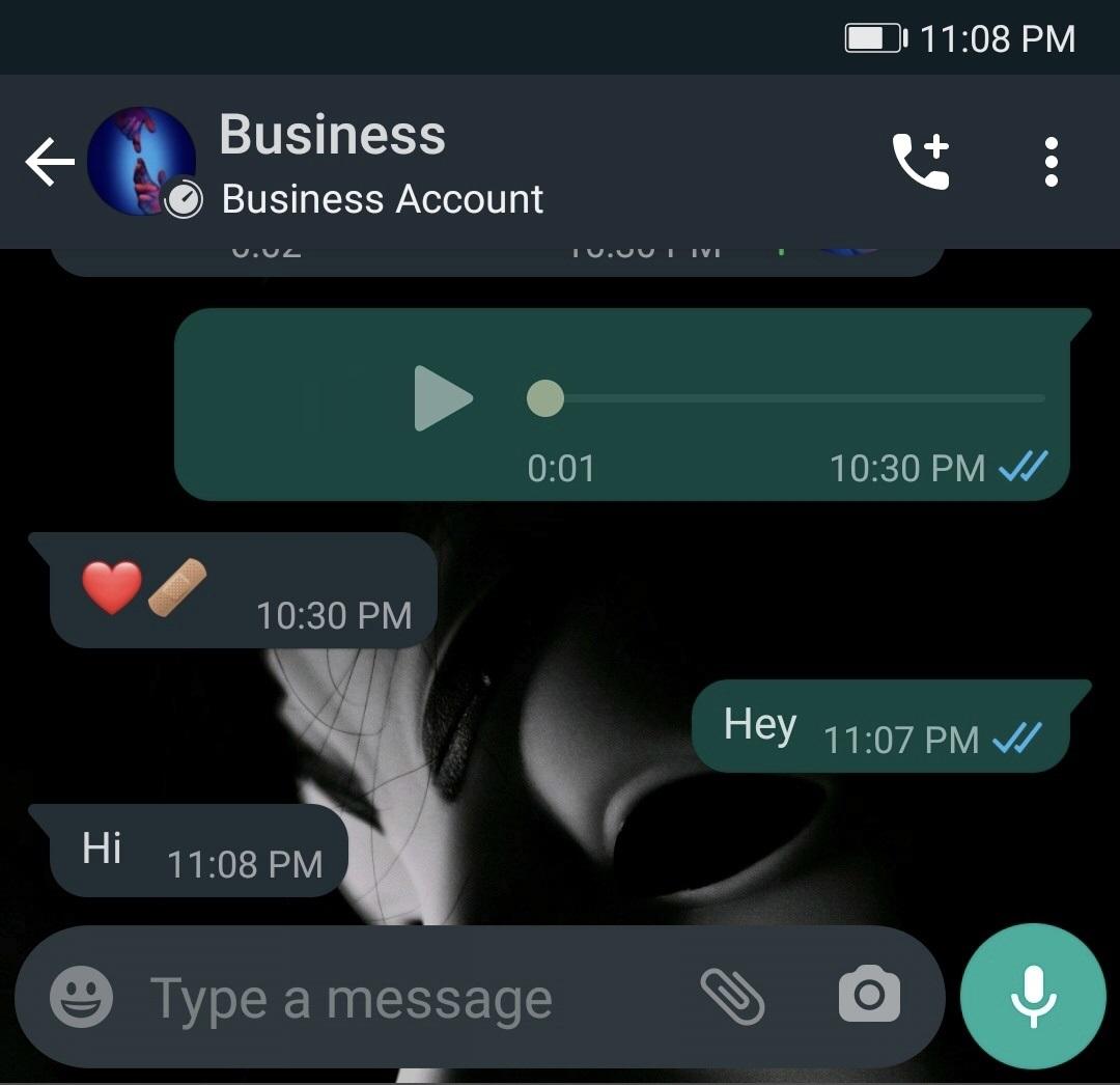 WhatsApp inactiv afaceri