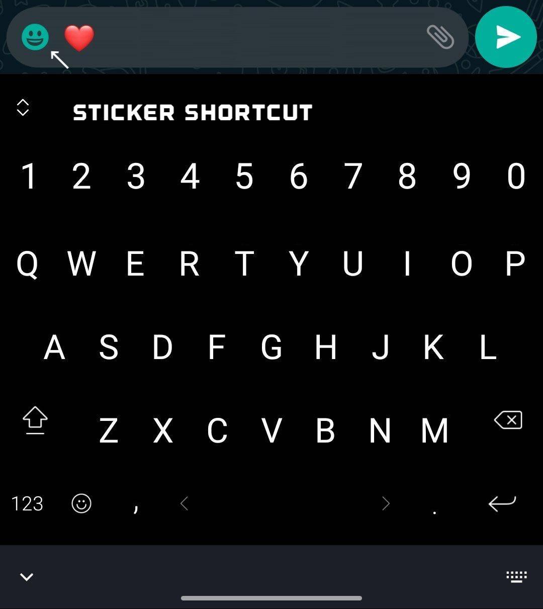 WhatsApp potrivire sticker