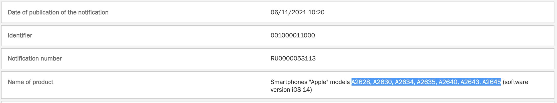 iPhone 13 confirmat europa