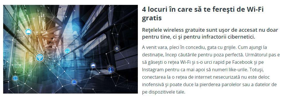 BCR Romania wifi gratuit